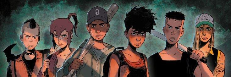 Les personnages de la série Green Class de Jérome Hamon et David Tako