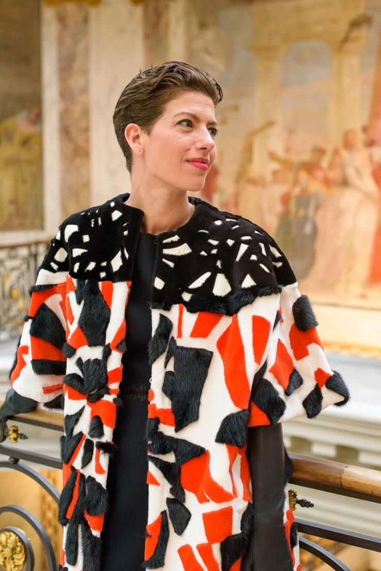 Manteau de Fourrure Fendi au musée Jacquemart André