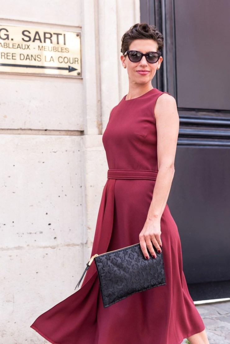 Marquis Paris - Fashion Paris - Juin 2017 - Robe Rouge
