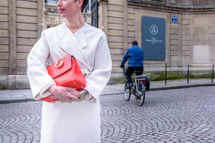 Marquis Paris - Manteau blanc
