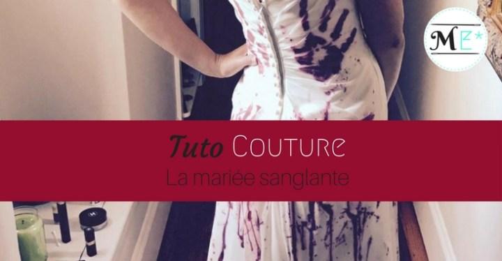 Costume DIY de mariée sanglante