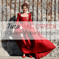 Halloween: Sew Your Queen of Hearts Costume