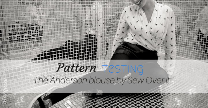 "The perfect spring/summer blouse: ""Anderson"" by Sew Over It"