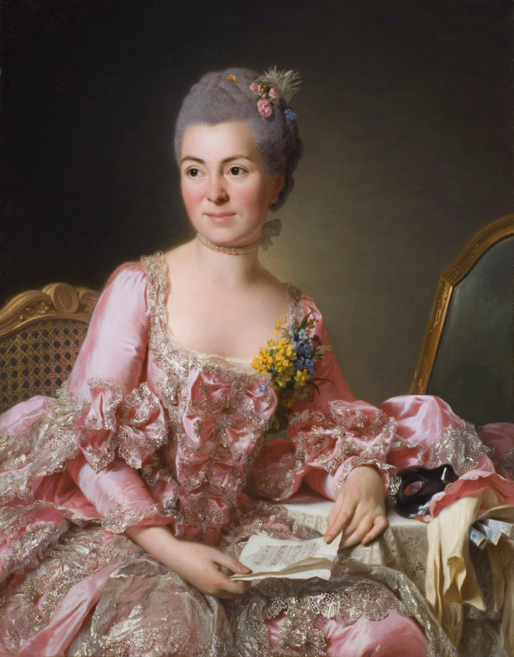Marie Suzanne Giroust, by Alexander Roslin