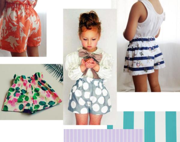 cours de couture débutant short enfant