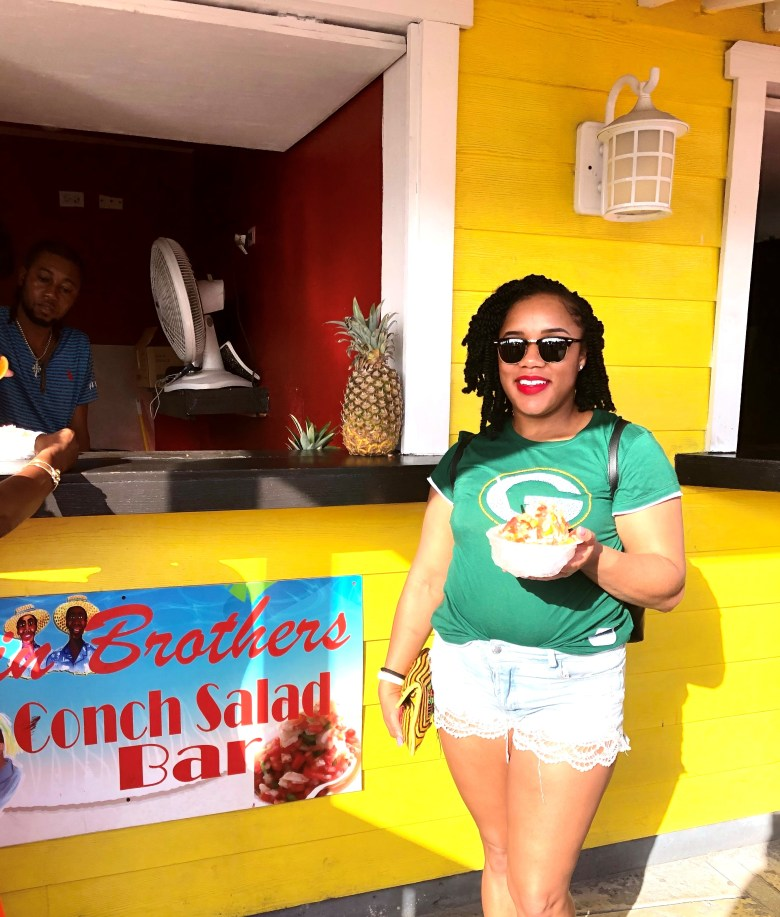 Nassau Bahamas Travel Guide: getting my conch salad  fix