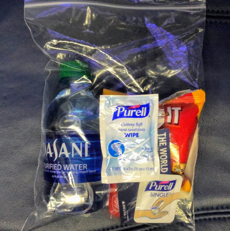 Delta Snack Bag During COVID