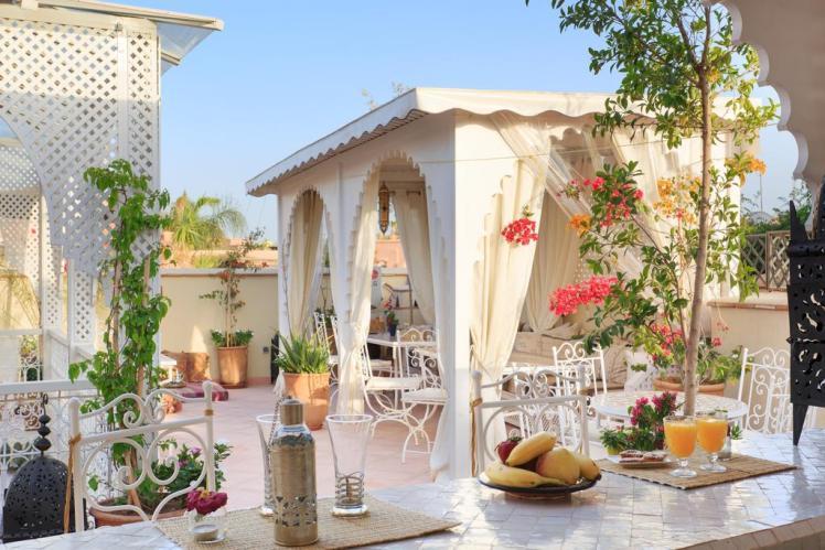 Alojarse en Marrakech cerca de Jemaa El Fna