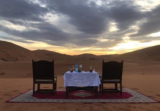 Alojamiento en el Desierto Royal Oasis Camp 3