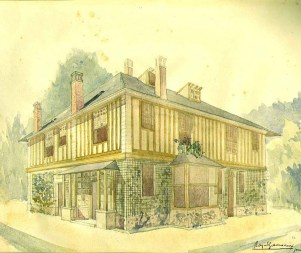 1923 GRAVEREAUX, Raymond - Le Billard wp