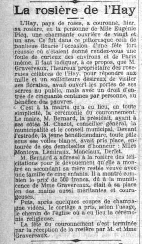 Le Petit Parisien du 9 juin 1913