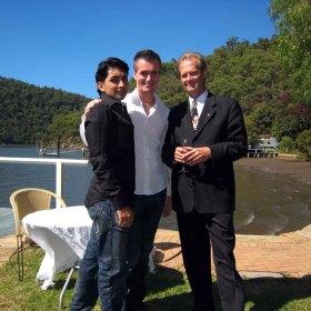 Hawkesbury River wedding