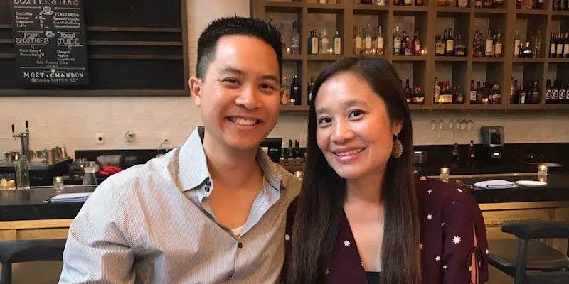Michael Quan and wife