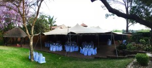 Function tented area 10