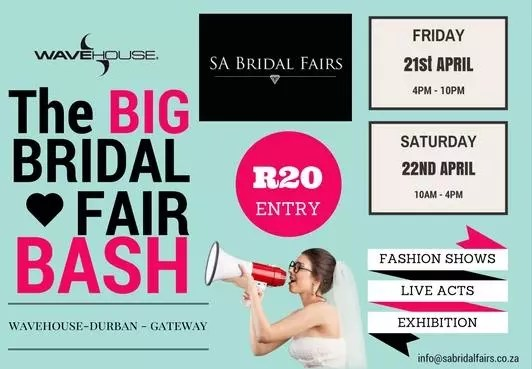Wavehouse, Gateway. The Big Bridal Fair Bash