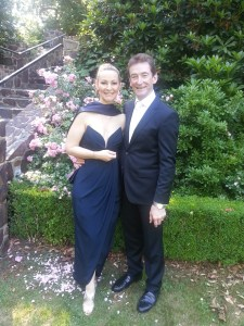 Chris and Philipa at her daughter's wedding