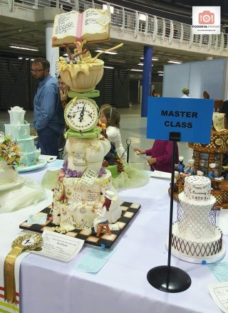 The Master Class Winning Cake at the South African Cake Decorators Guild Exhibition.