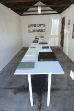 Bookish, installation view
