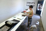 Bookish, installation view with Josie Cavallaro and Dean