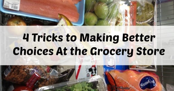 Make healthy choices at the grocery store - married and naked