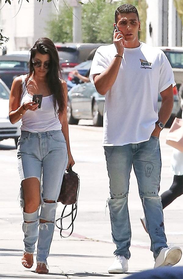 Kourtney Kardashian And Younes Bendjima's Romance Heats Up ...