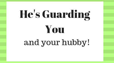 Jesus is your guard pastors wives