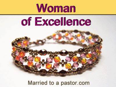 Being a church first lady of excellence
