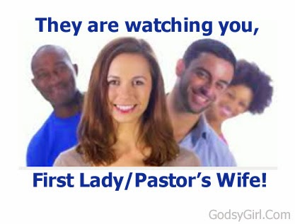 Handling being church first ladies
