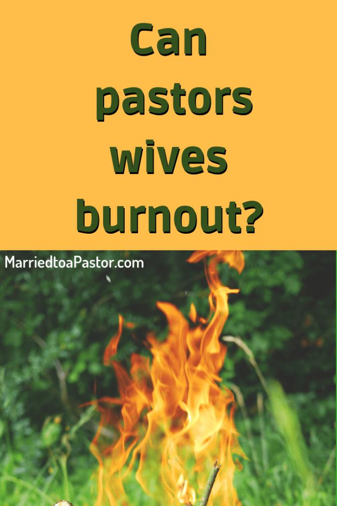 Pastors wives are similar to caretakers.