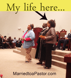 Should First Ladies or Pastors' Wives work?