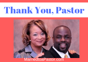 Thank you, Pastor Honey