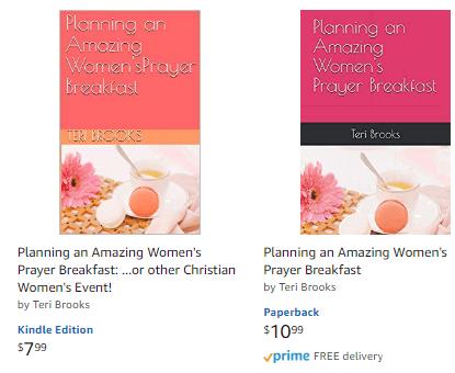Planning amazing women's prayer breakfasts