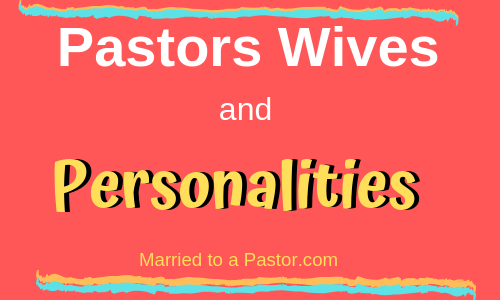 pastors wives personality
