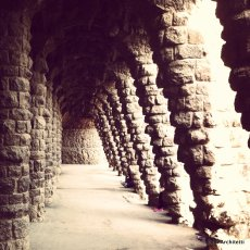 Parco Guell by Gaudi, Barcelona
