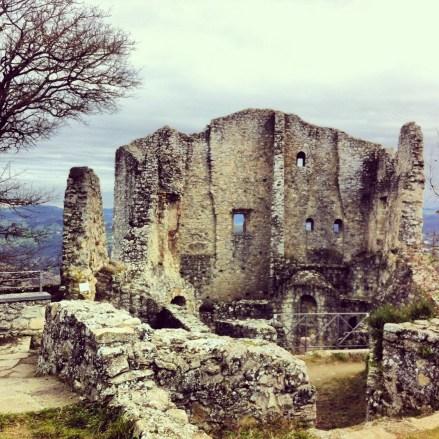 Canossa Castle ruins