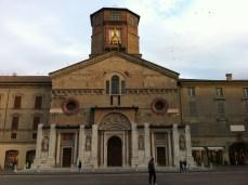 main piazza in Reggio