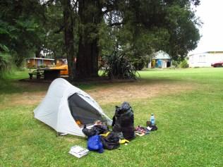 Camp at the Holiday Park
