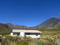 Mangatepopo Hut.