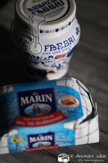 Cerises Amarena et beurre demi-sel