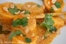 Curry de patates douces à la thaï