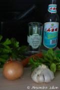 Brochettes de bœuf sauce chimichurri