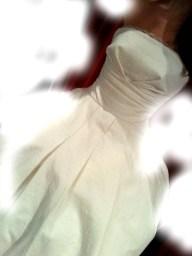 Brautkleid wadenlang