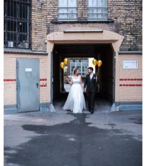 Hochzeitskleid Handarbeit