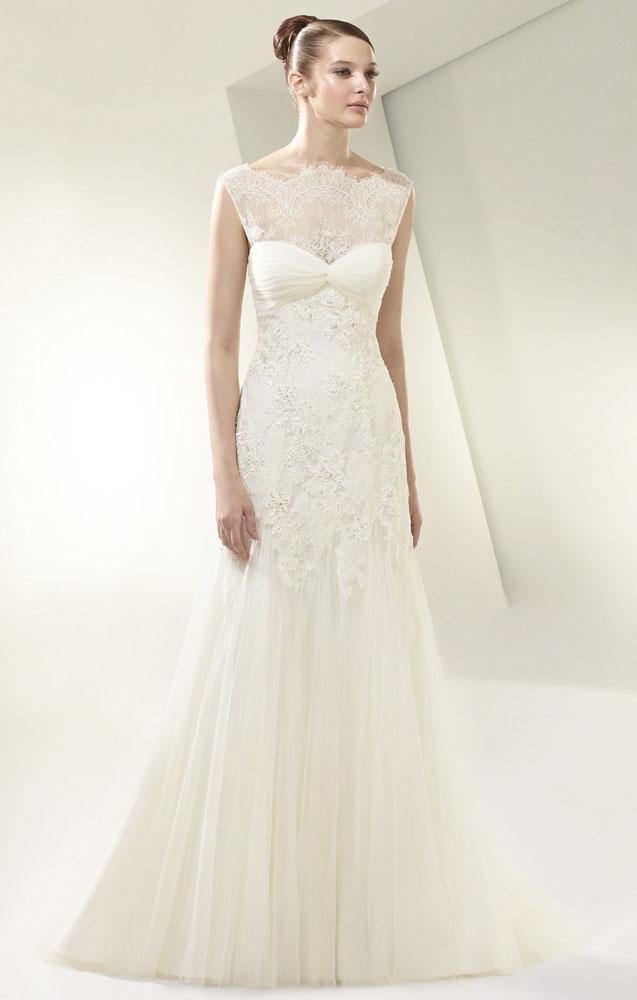 Enzoani Boho Hochzeitkleid