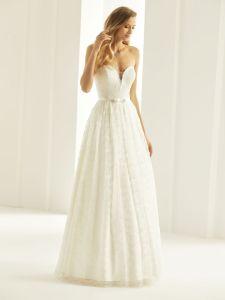 Brautkleid mit Herzform