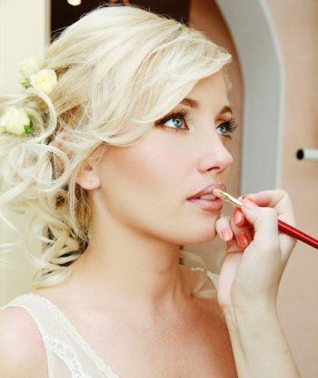 Свадебный макияж для блондинок