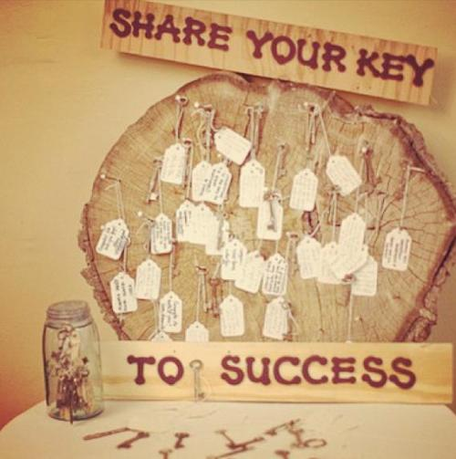 key to your success