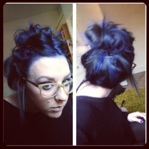 May - me current hair colour