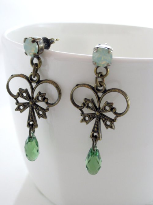 Talila-Green Earrings