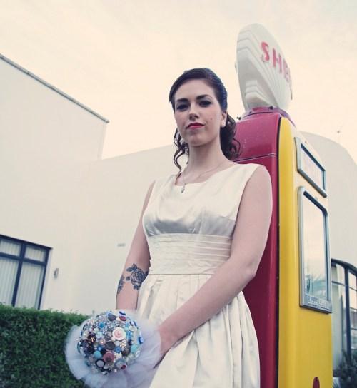 50s Bridal Photoshoot13